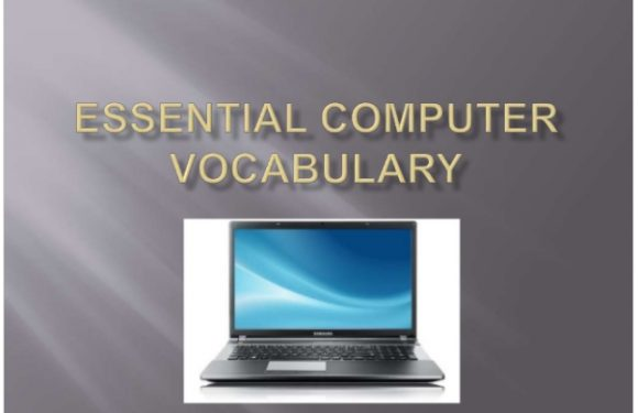 ESL Essential Computer Vocabulary