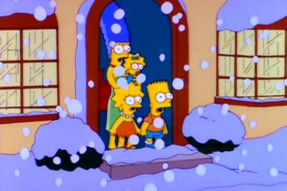 Snow Day: An ESL Lesson feat. The Simpsons