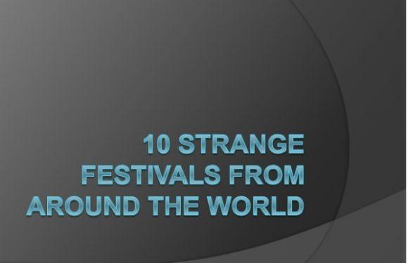 World Festivals ESL Lesson