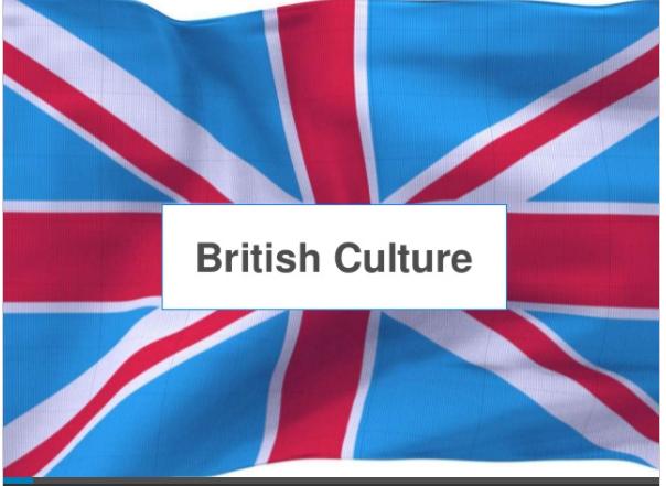UK Culture Lesson