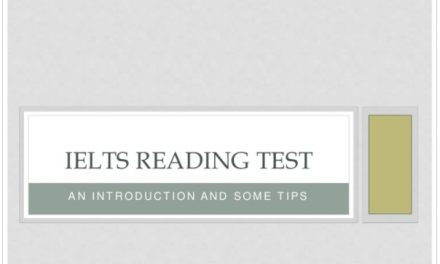 Introduction to IELTS Reading