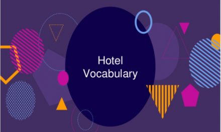 Intermediate ESL Hotel Vocabulary