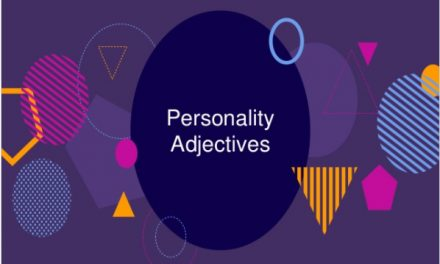 Intermediate ESL Vocabulary – Personality Adjectives