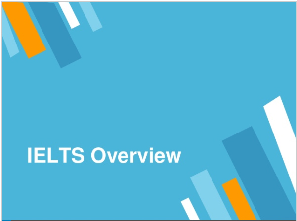 Overview of the IELTS Exam