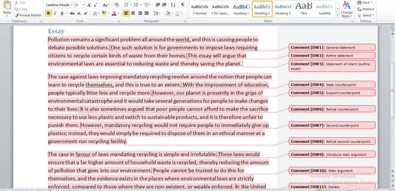 Beginning and Ending an IELTS Essay