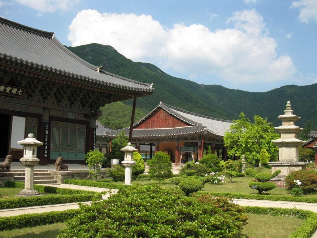 south korea temple