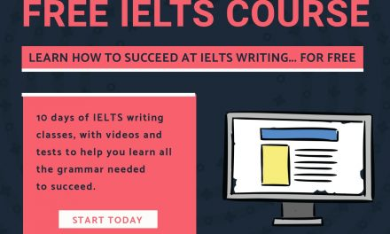 A Free Grammar Course Designed for IELTS Students