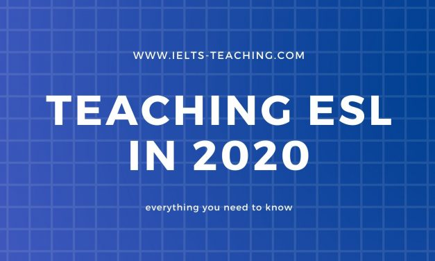 Teaching ESL in 2020