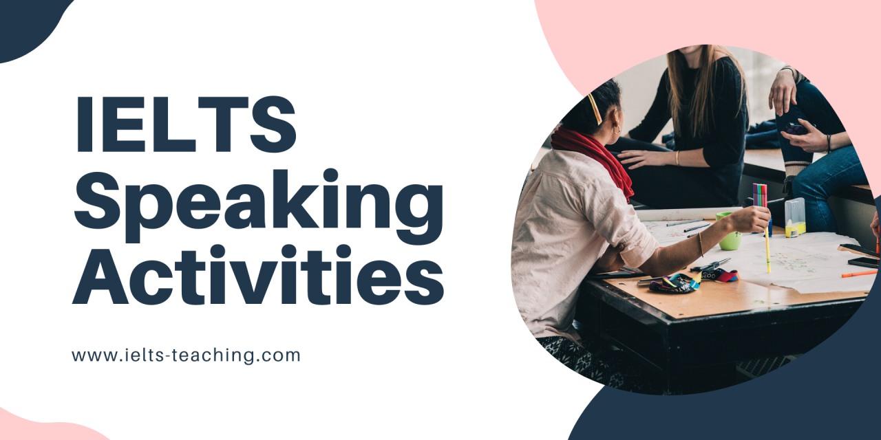 IELTS Speaking Class Activities