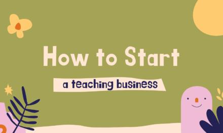 How to Start an Online Teaching Business