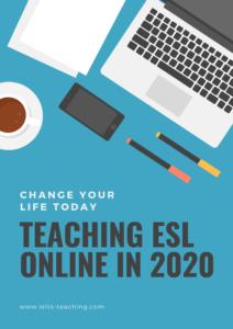 teaching esl online in 2020