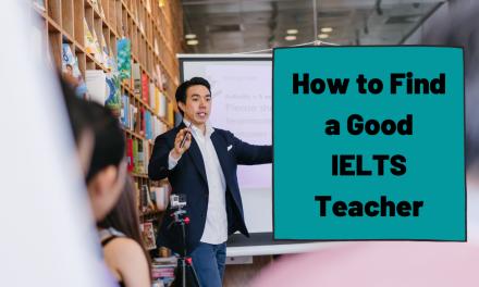 How to Find a Good IELTS Teacher